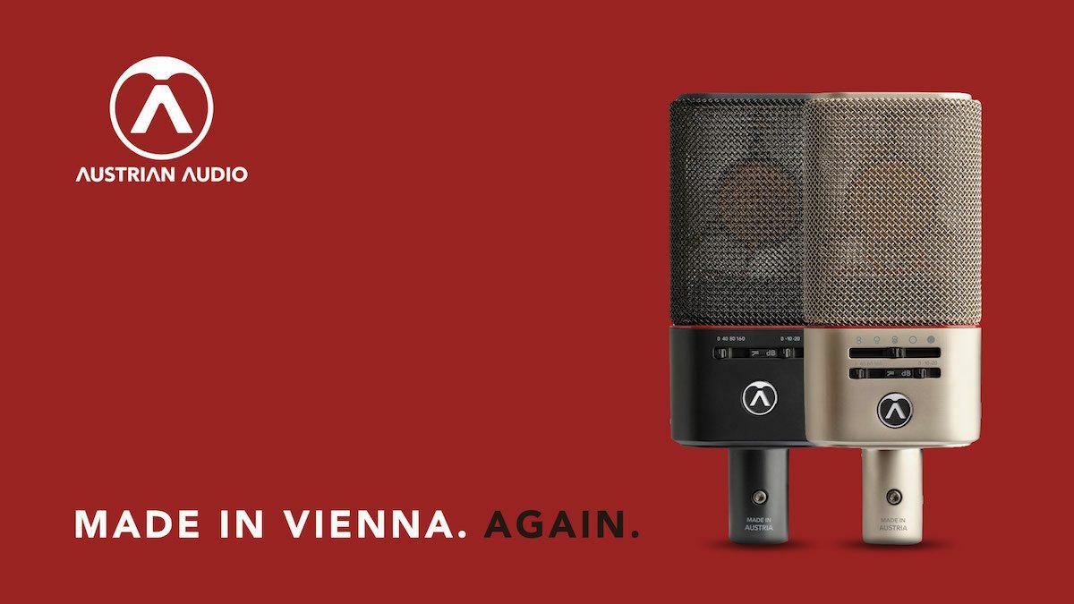 マイクロフォン・ブランド「Austrian Audio」が遂に日本上陸!