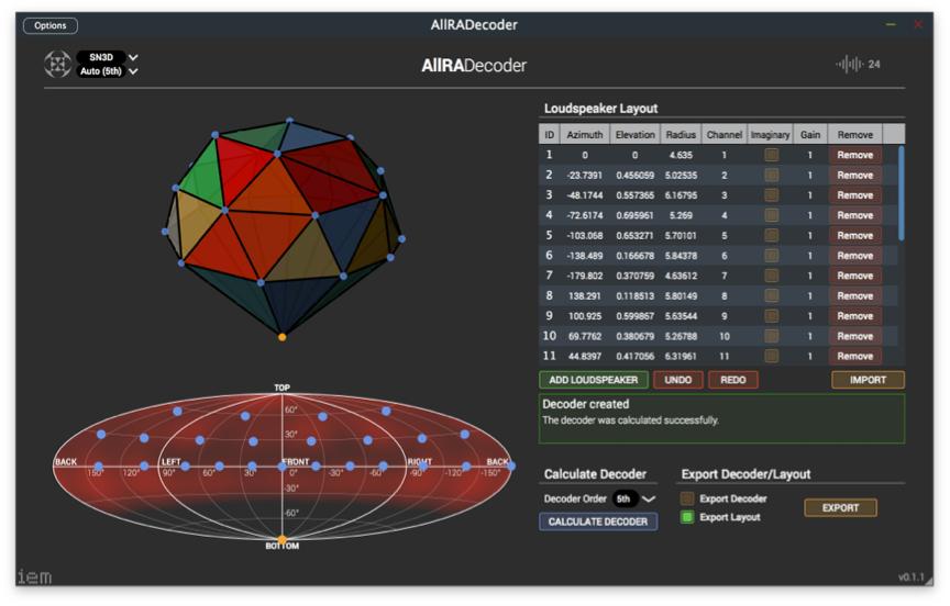 Ambisonics(アンビソニックス)とは?Ambisonic制作用デコーダープラグイン:IEM Plug-in Suite / AllRADecoder