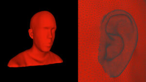 バイノーラルとSOFA:3Dmodel