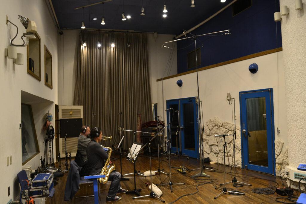 管楽器 マイクセッティング