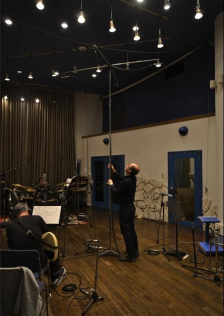 スタジオでの 3Dオーディオ 録音:オムニクロス