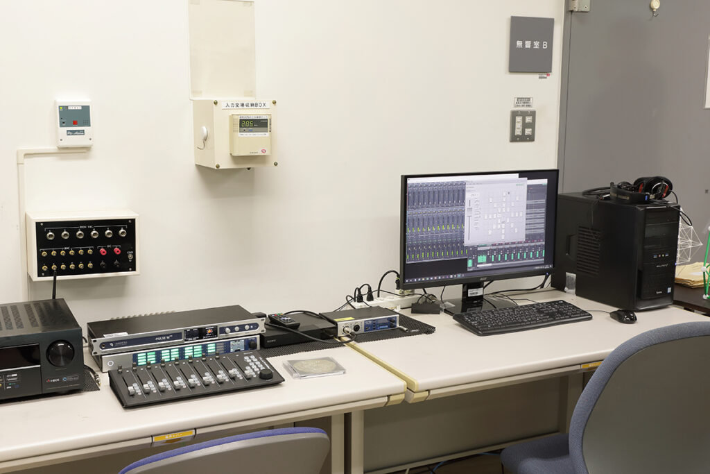 RME マルチチャンネル再生機器