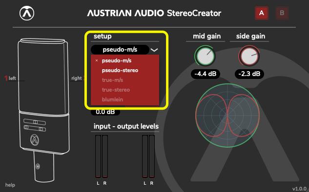 StereoCreator - OC818単体のセットアップ