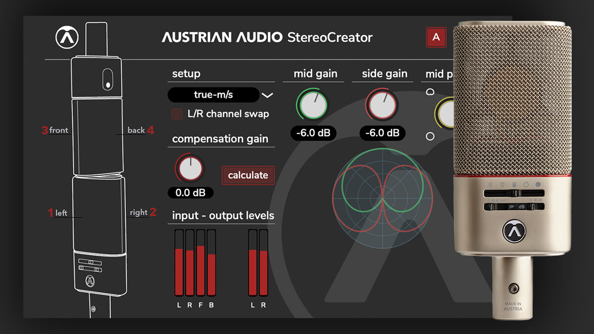 StereoCreator – OC818でXY/MS/Blumleinをクリエイト