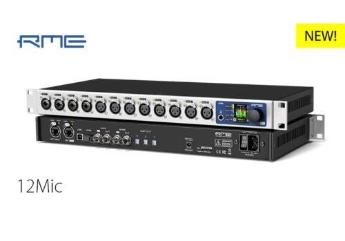 RME新製品:12Mic