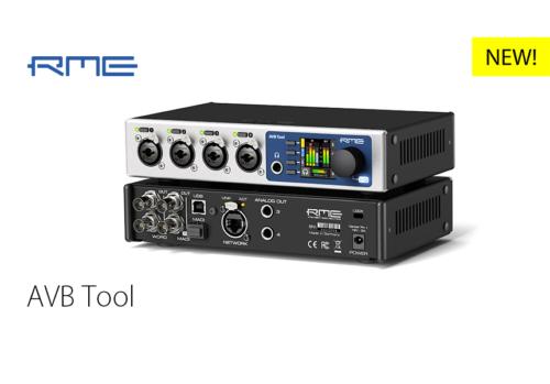 RME新製品:AVB Tool