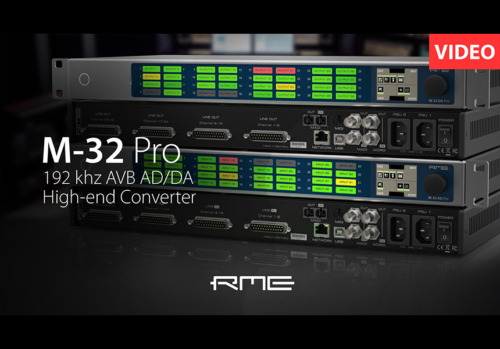 RME M-32 Proシリーズ